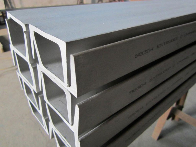 Stainless Steel Channel Mark Painting