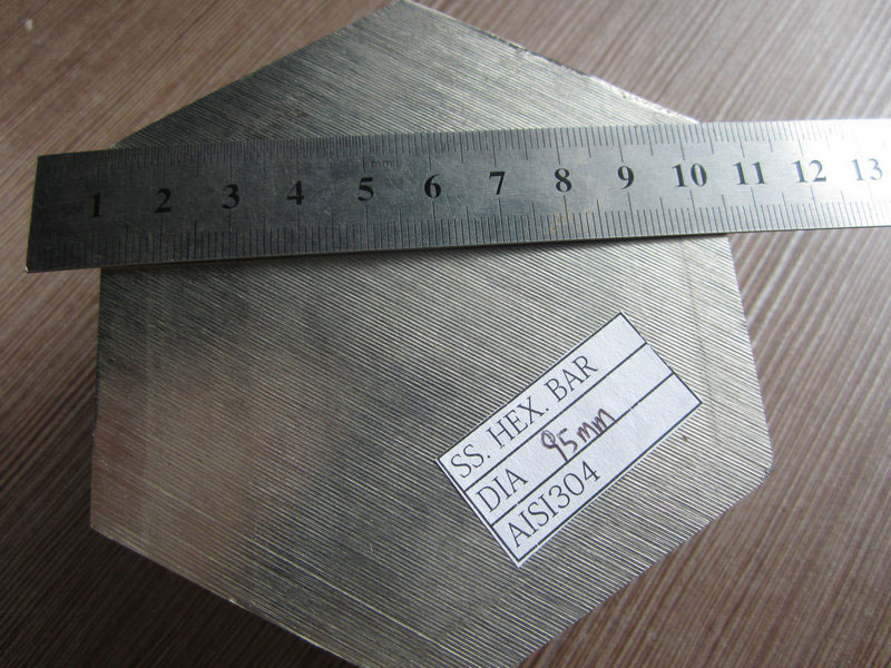 Stainless Steel Hexagonal Bar Sample